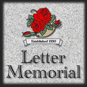 Letter Memorial