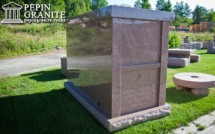 Pepin Granite Push-in Mausoleum