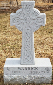 Celtic Cross Headstone by Pepin Granite