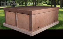 Push-in Mausoleum from Pepin Granite