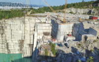 A Granite Quarry in Barre, VT