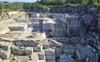 Granite quarry in Barre, VT