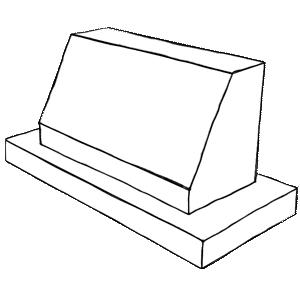 Slants Slant Top Headstone Gravestones