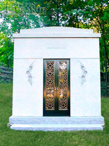 Granite Mausoleum 0063