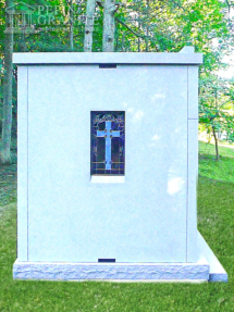 Granite Mausoleum 0059