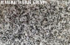 Barre Dark Gray Granite