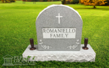 Upright Monument Romaniello Family 1